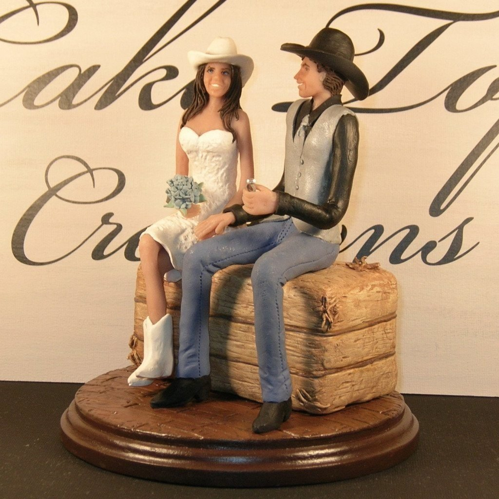 Cowboy Cowgirl Wedding Ideas: 10 Countriest Wedding Cakes You'll Ever See