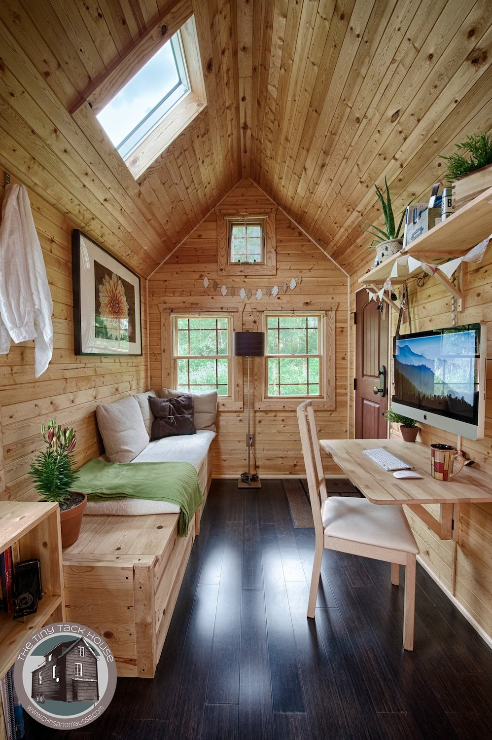 Image Via Tiny Tack House Houses Interior