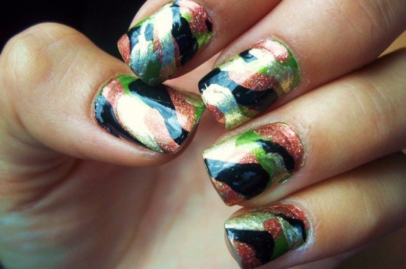 6 Super Fun Nail Art Ideas for Country Gals - Super Fun Country Style Nail Designs