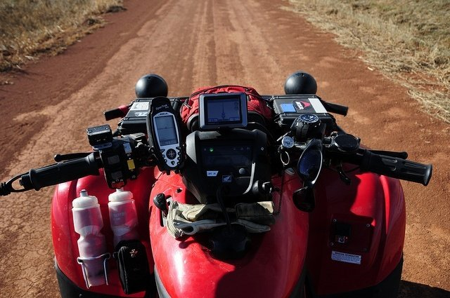 4-wheeler upgrade GPS