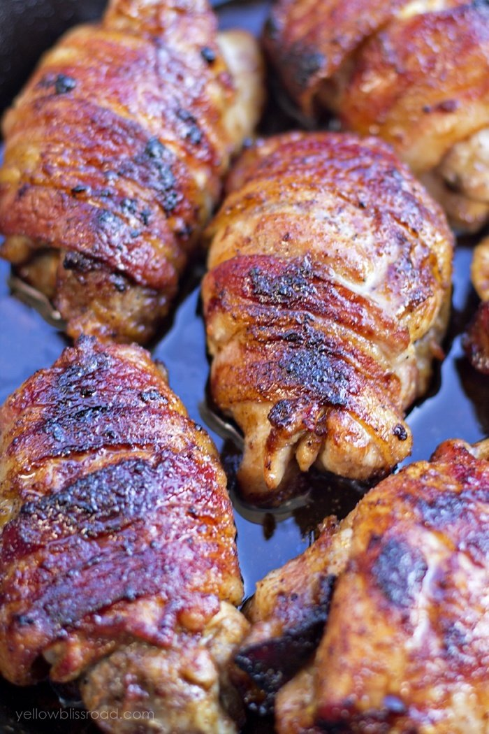 Bacon-Wrapped-Honey-Ginger-Chicken