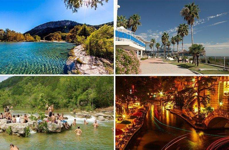 vacation summer destinations texas places vacations beach spots travel fun wideopencountry trip collage country families resorts hill