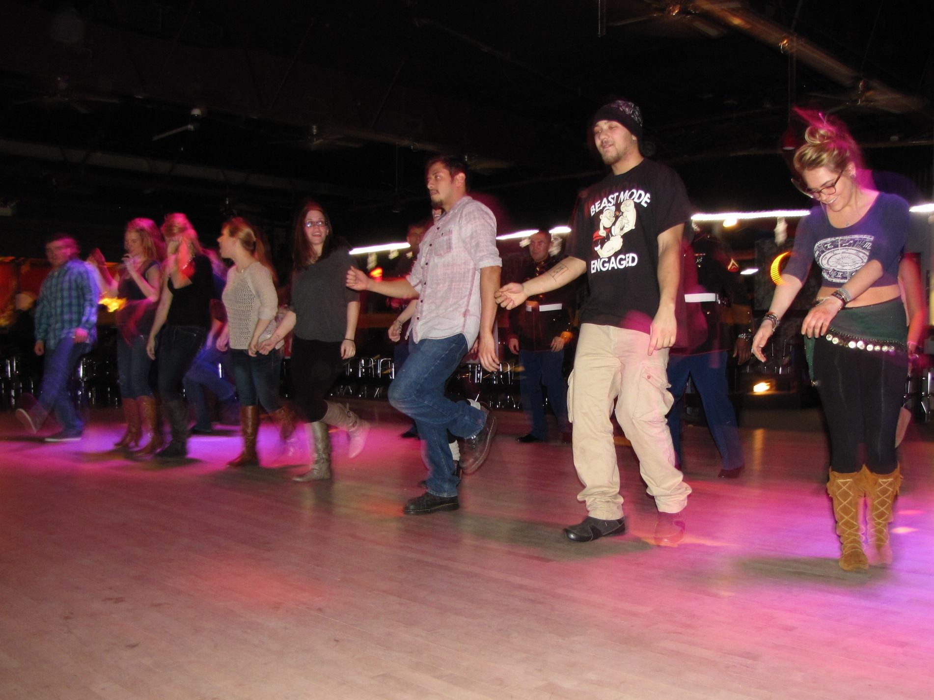 The Loaded Buffalo Line Dancing WOC