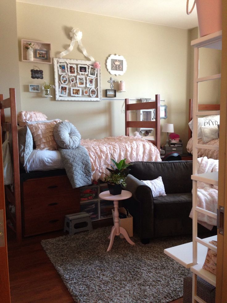 9 decorating tricks to countrify your dorm room - Dorm room bedding ideas ...