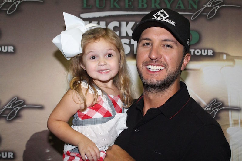 Cutest Luke Bryan Fan Ever Meets Her Favorite Country Star
