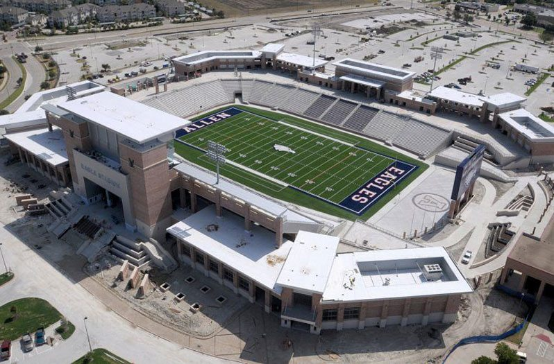 Biggest High School Football Stadiums In Texas - 10 of the worlds oldest active sports stadiums