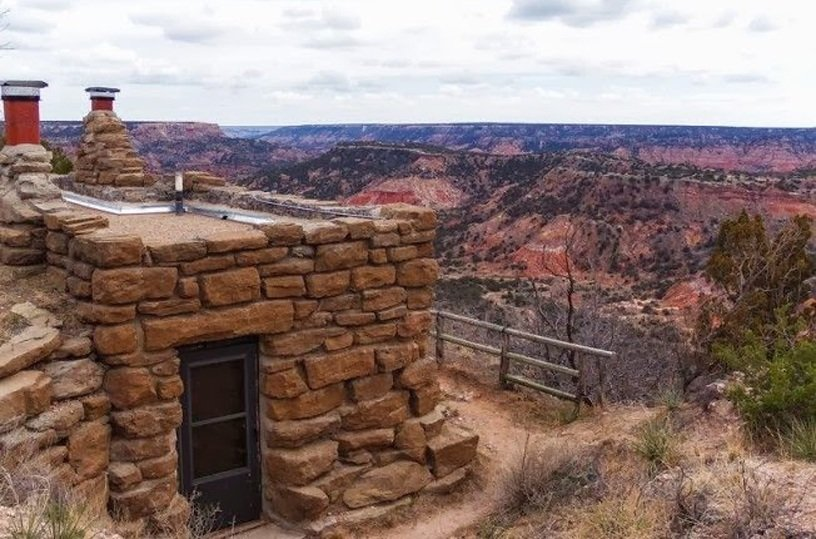 Goodnight cabin palo duro state park bing images for Wide open country cabins
