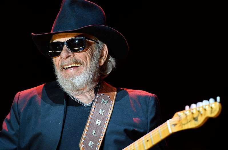 Merle Haggard outlaw country star