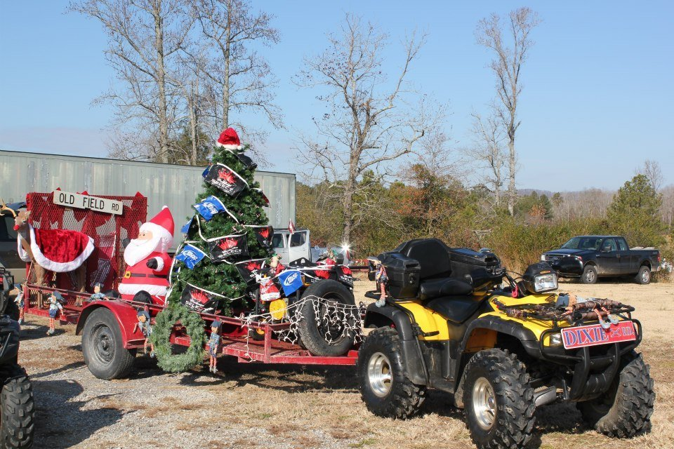 facebookwebsters chapel redneck christmas parade - Christmas Float Decorations