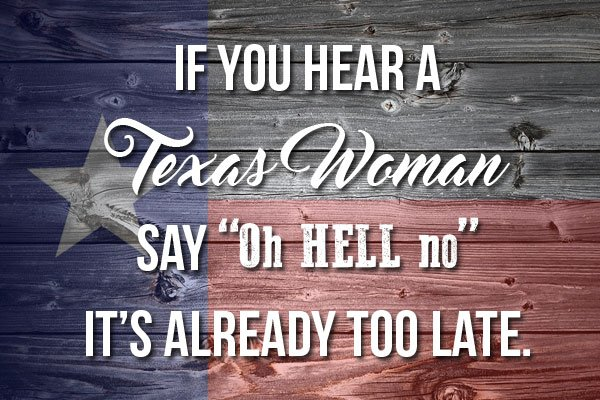 Dating a texas woman