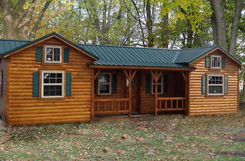 Amish cabins this log cabin kit can be yours for 16350 solutioingenieria Image collections