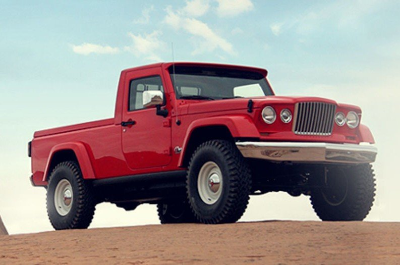 Jeep is Releasing a Pickup Truck in 2017