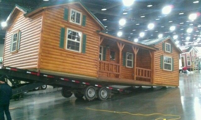 This Amish Log Cabin Kit Can Be Yours For $16,350