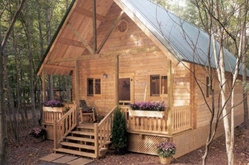 You can build this cozy a frame cabin for 6 050 for Wide open country cabins