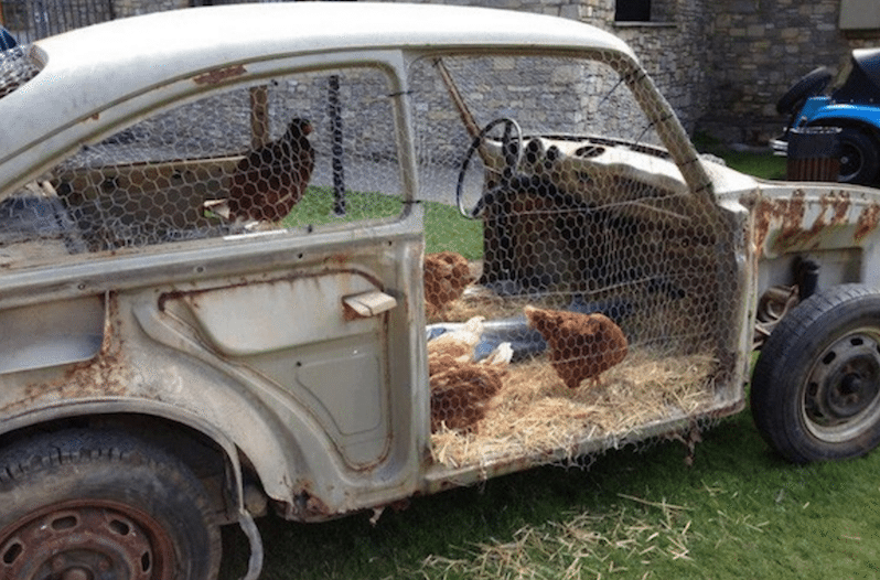 7 Incredibly Creative And Unique Chicken Coops