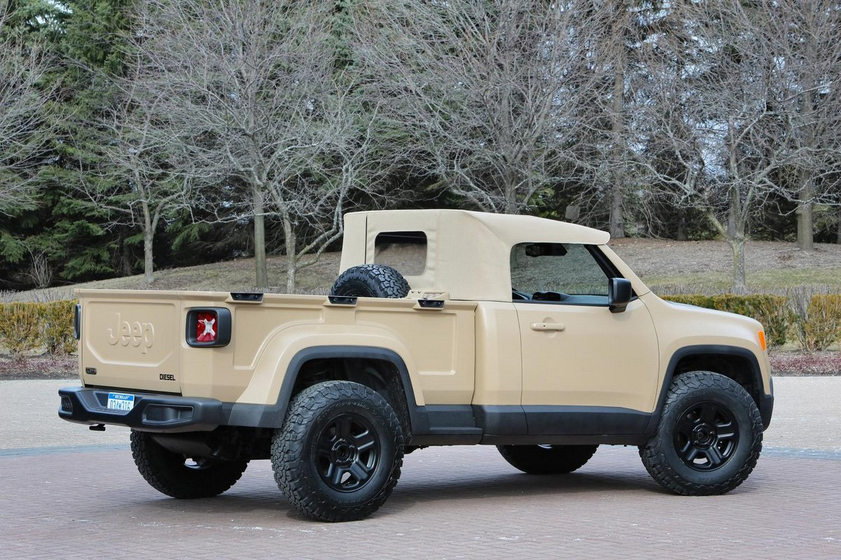 New Jeep Commanche Pickup Truck Unveiled