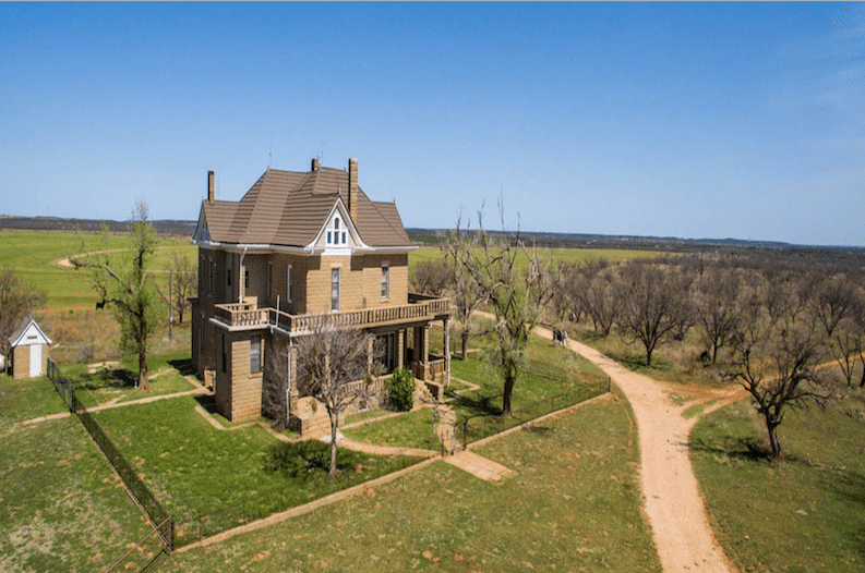the historic johnson ranch is up for sale in texas