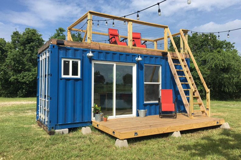Small Shipping Container Homes this quirky shipping container home is cozy and affordable