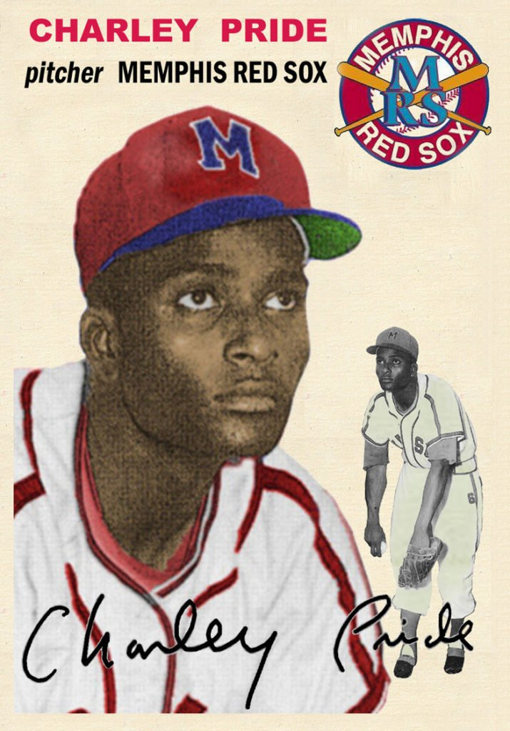 Charley Pride Red Sox Card