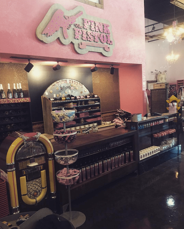 20852fce4a Take a Peek Inside Miranda Lambert s Pink Pistol Store in East Texas