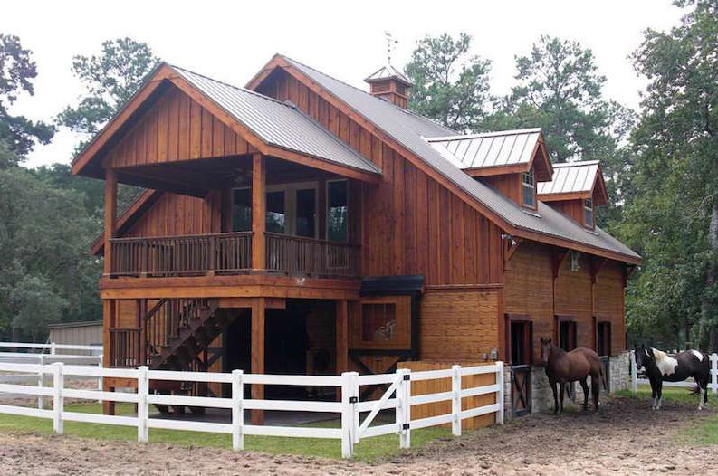 This company is making it easy for you to build a Barns with apartments above