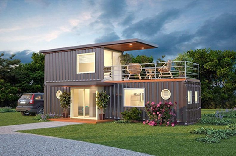 these stylish cargo container homes are becoming a hot