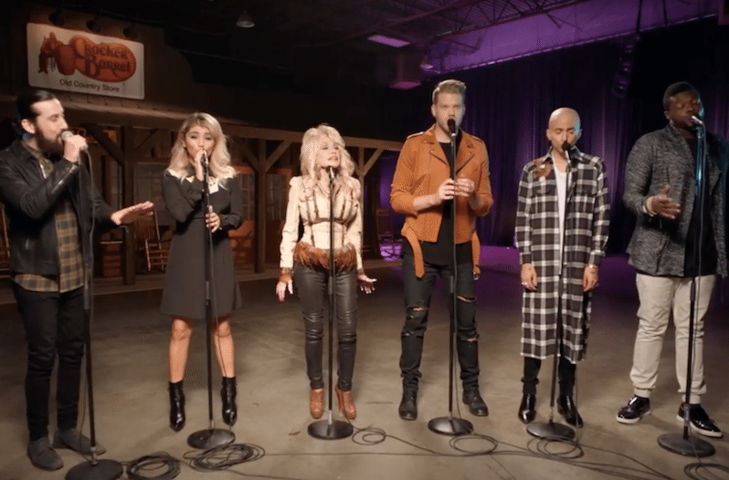 Dolly Parton and Pentatonix Supply Energetic A Capella Version of 'Jolene'