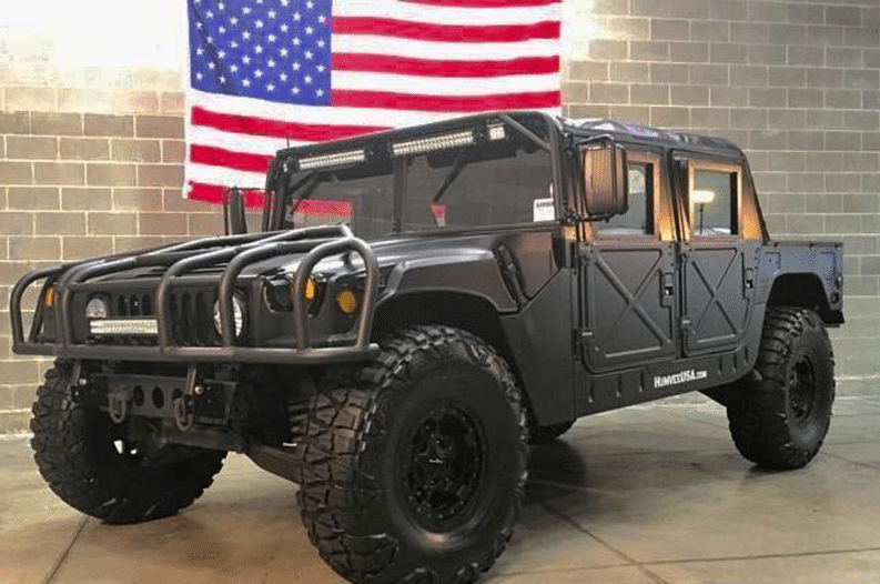 Humvee for Cheap: Buy from the U S  Government for Under $4K