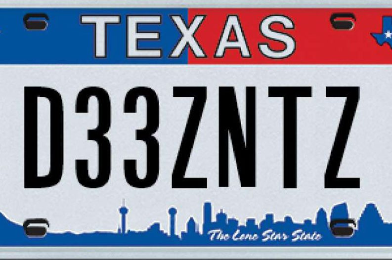 sc 1 st  Wide Open Country & 15 Outrageous License Plates Rejected By The Texas DMV