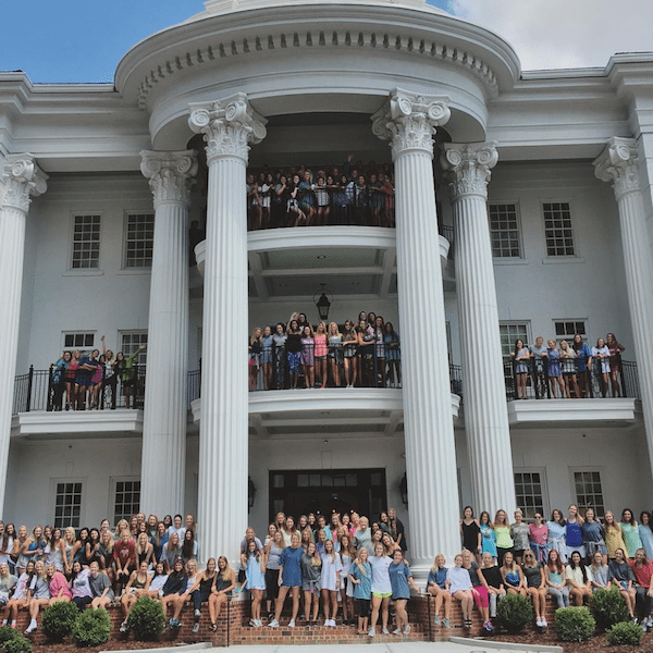 Phi Mu Ole Miss Sorority House