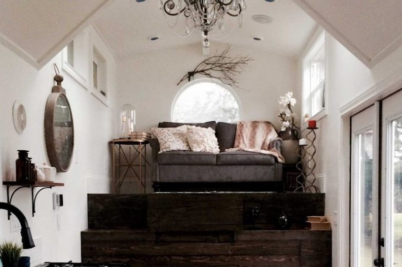 Peek Inside This Stylish And Unique Vintage Glam Tiny House