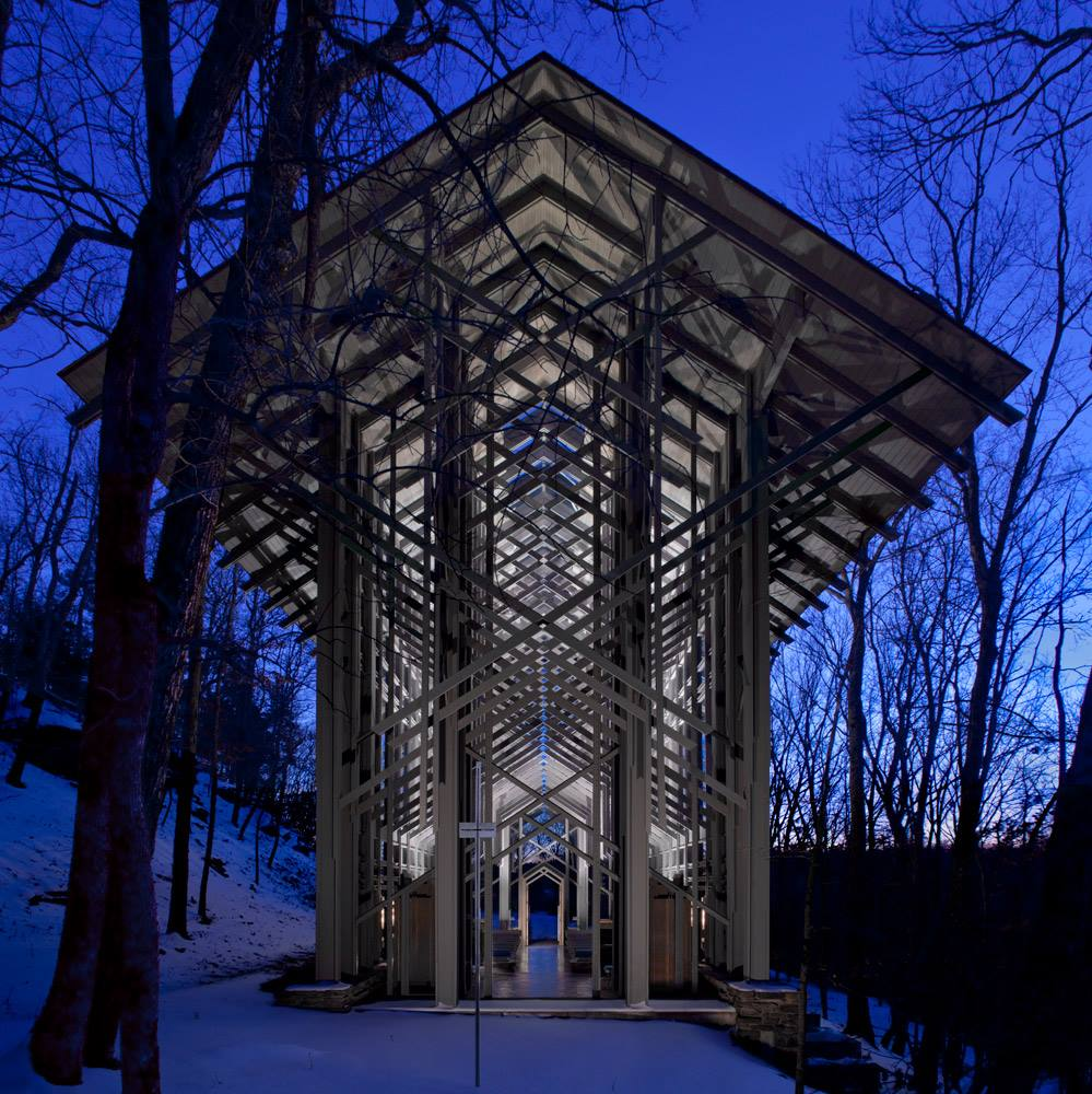 Facebook/Thorncrown Chapel