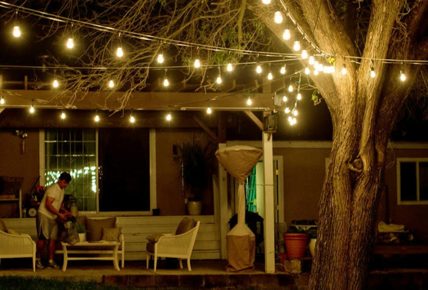 string lights deal make your back porch magical with
