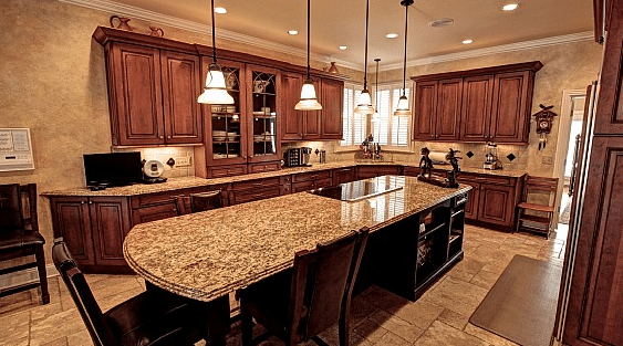 Country Gold Estate Kitchen