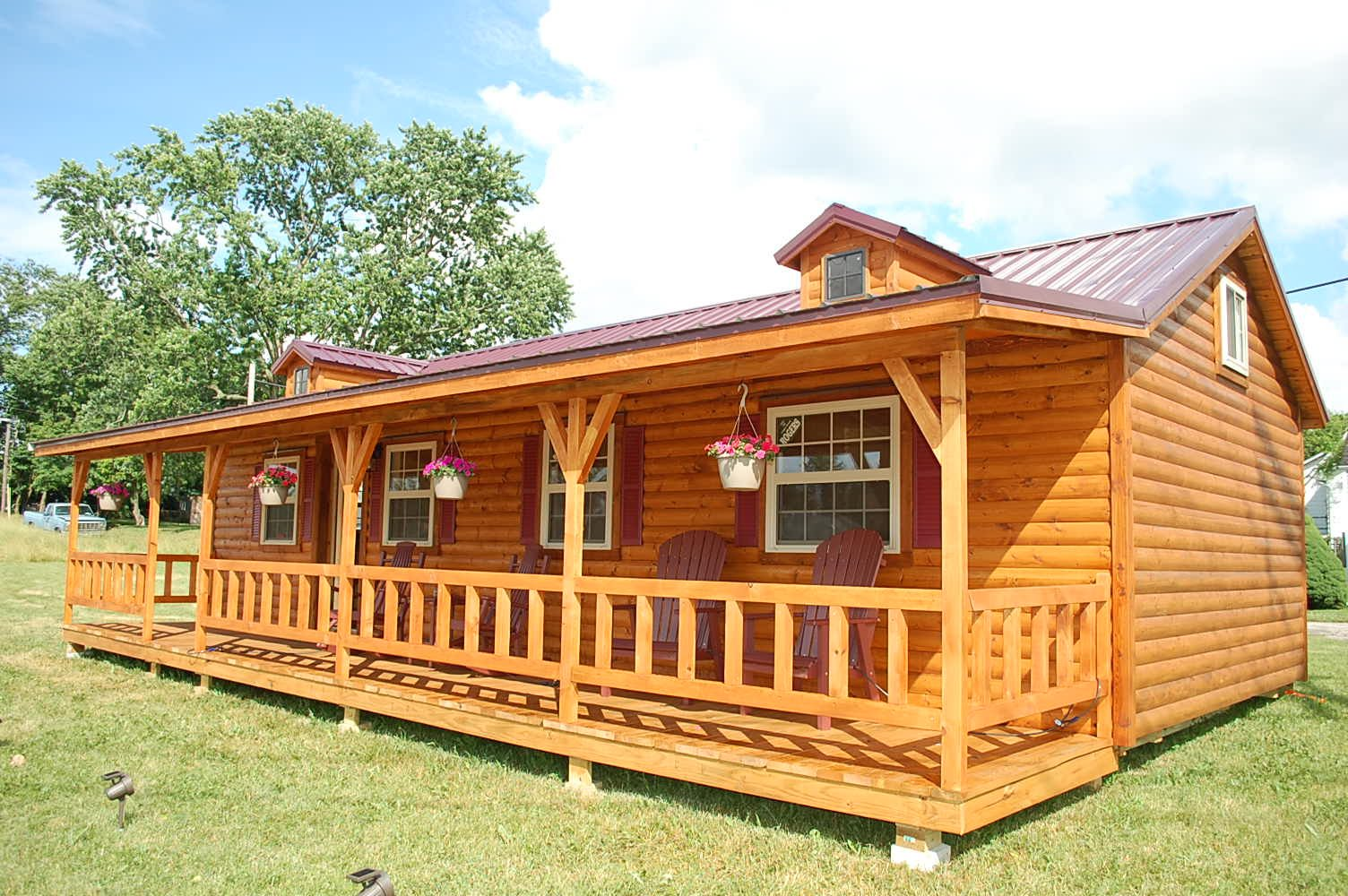 for log in wisconsin sale amish small cabins homes prefab by zook cabin chalet