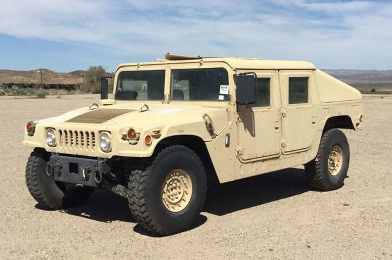 Slant Back Humvees For Sale Marine Corps Auctioning Them