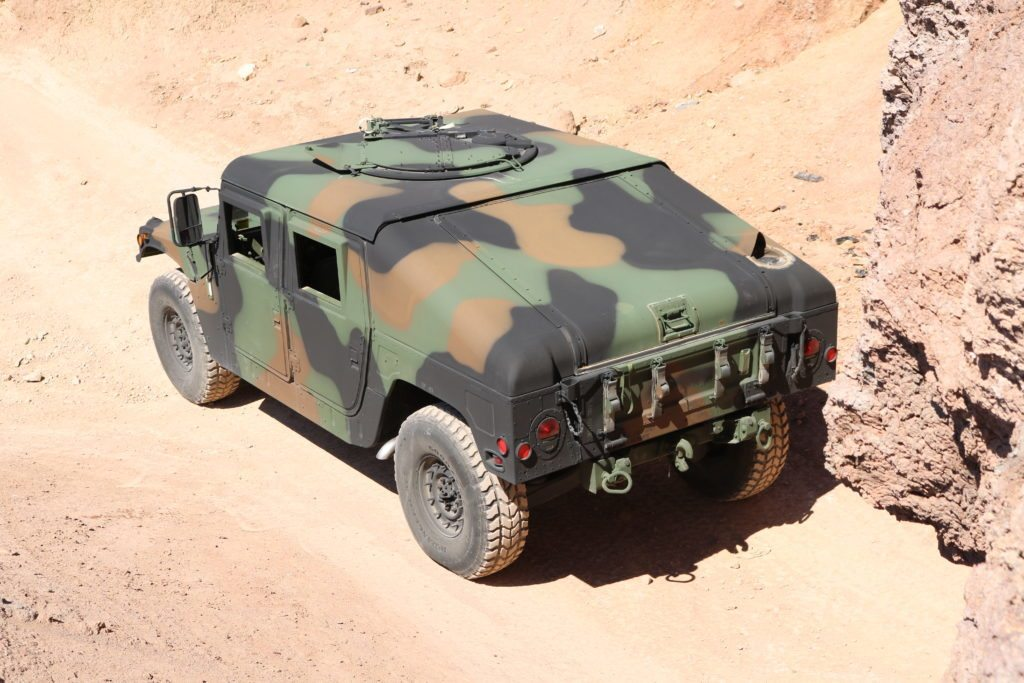 Military Surplus Auction >> Slant Back Humvees for Sale: Marine Corps. Auctioning Them ...