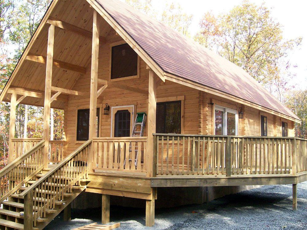 log home kits 10 of the best tiny log cabin kits on the. Black Bedroom Furniture Sets. Home Design Ideas