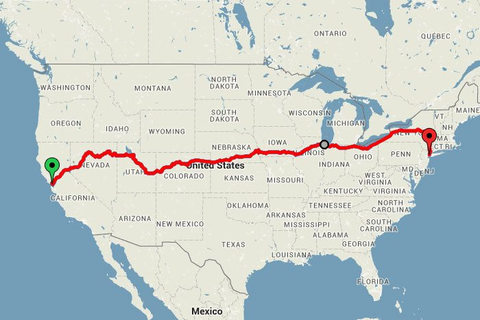 You Can Take a Scenic Train Ride Across the U.S. For $213