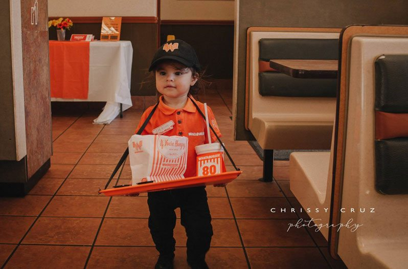 Texan Toddler Serves Up Cuteness With Adorable Whataburger