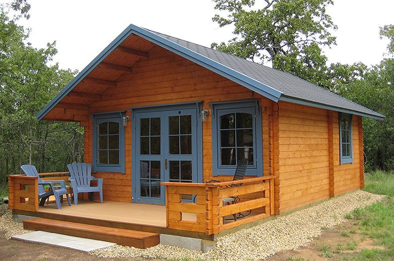 Cabin kit from amazon lets you build your tiny dream home for Wide open country cabins