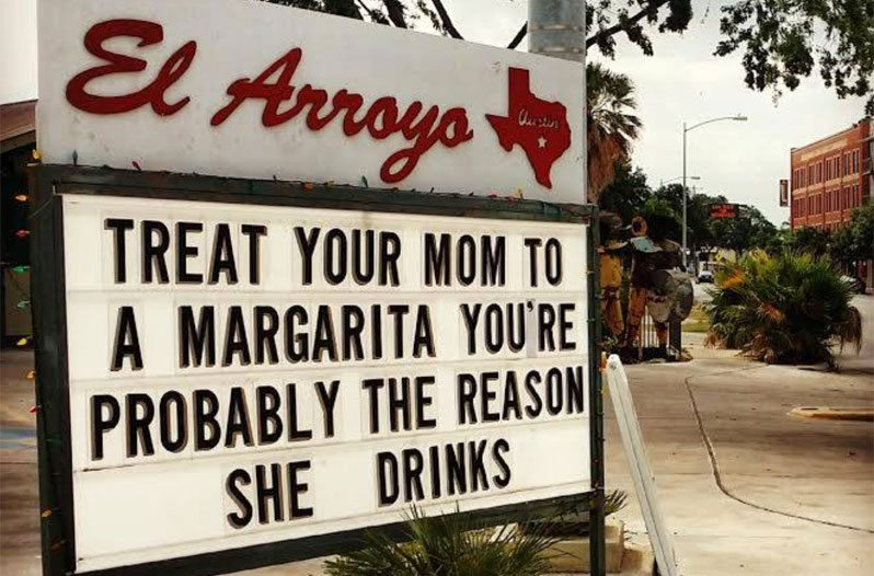 Funny Restaurant Signs at this Texas Eatery are Now Compiled in a Book