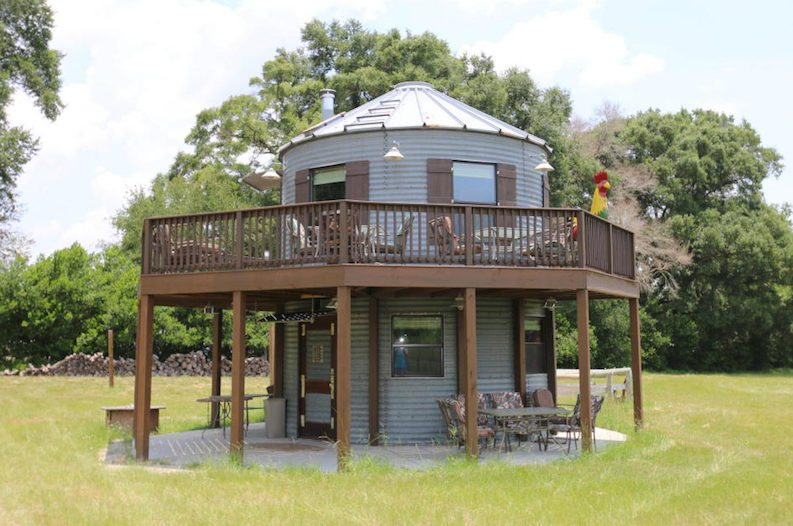This Old Silo Was Transformed Into An Incredible Tiny Home