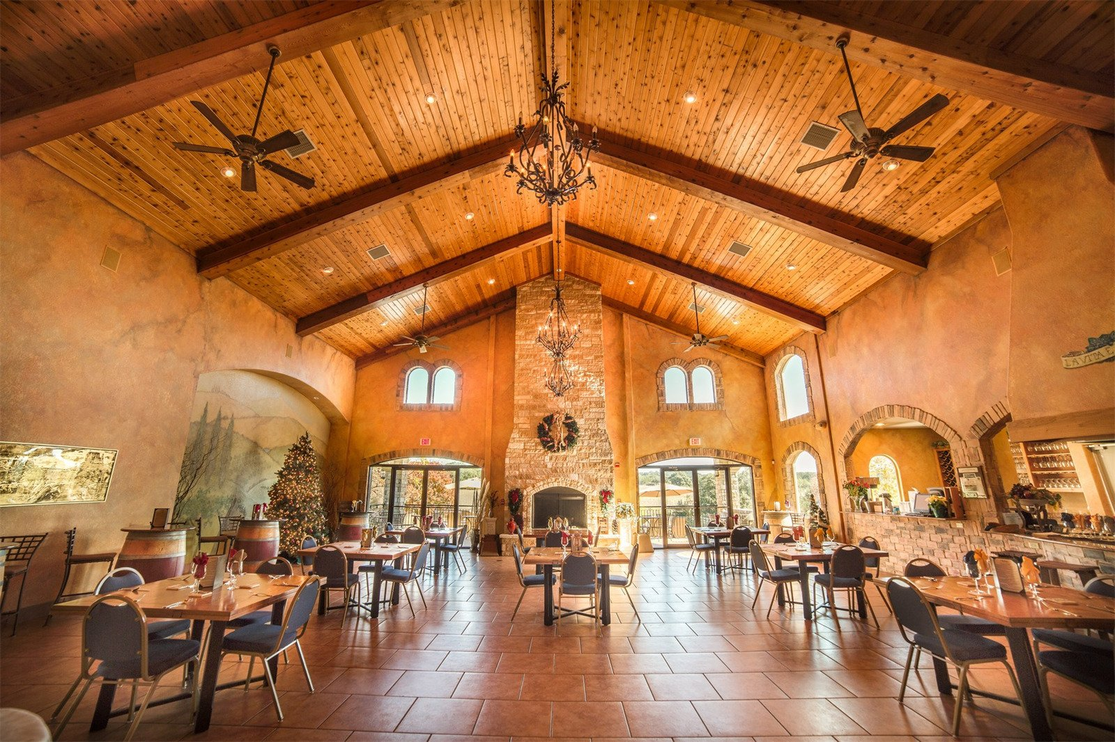 Texas Hill Country Winery Restaurant