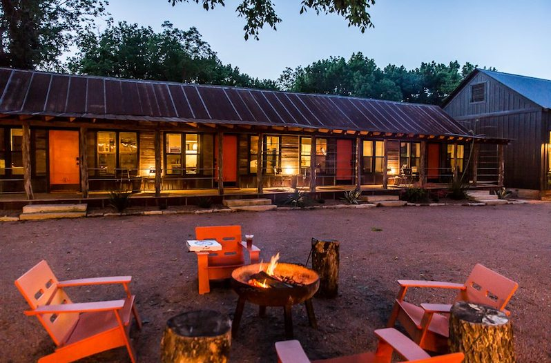 Camp Comfort  This Texas Hill Country Bed And Breakfast Is