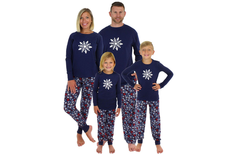 30019a725d 15 Matching Family Christmas Pajamas for the Holidays