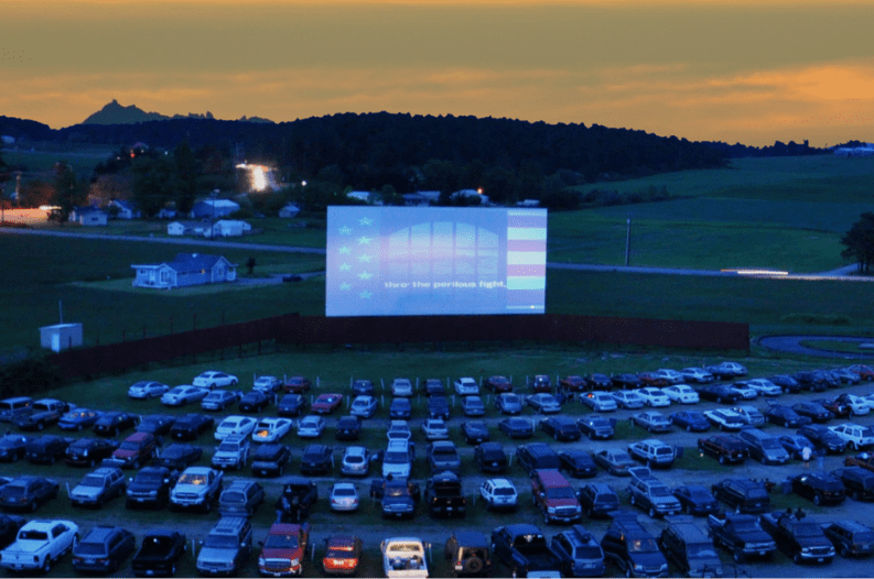 drive in cinema roma