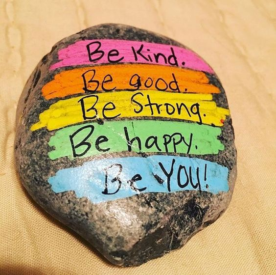 Painted Rock Quote