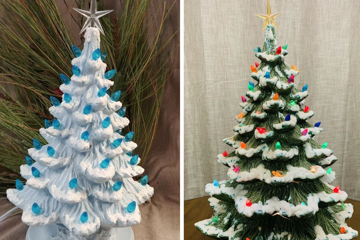 Vintage Ceramic Christmas Trees Yours Could Be Worth More Than You Think