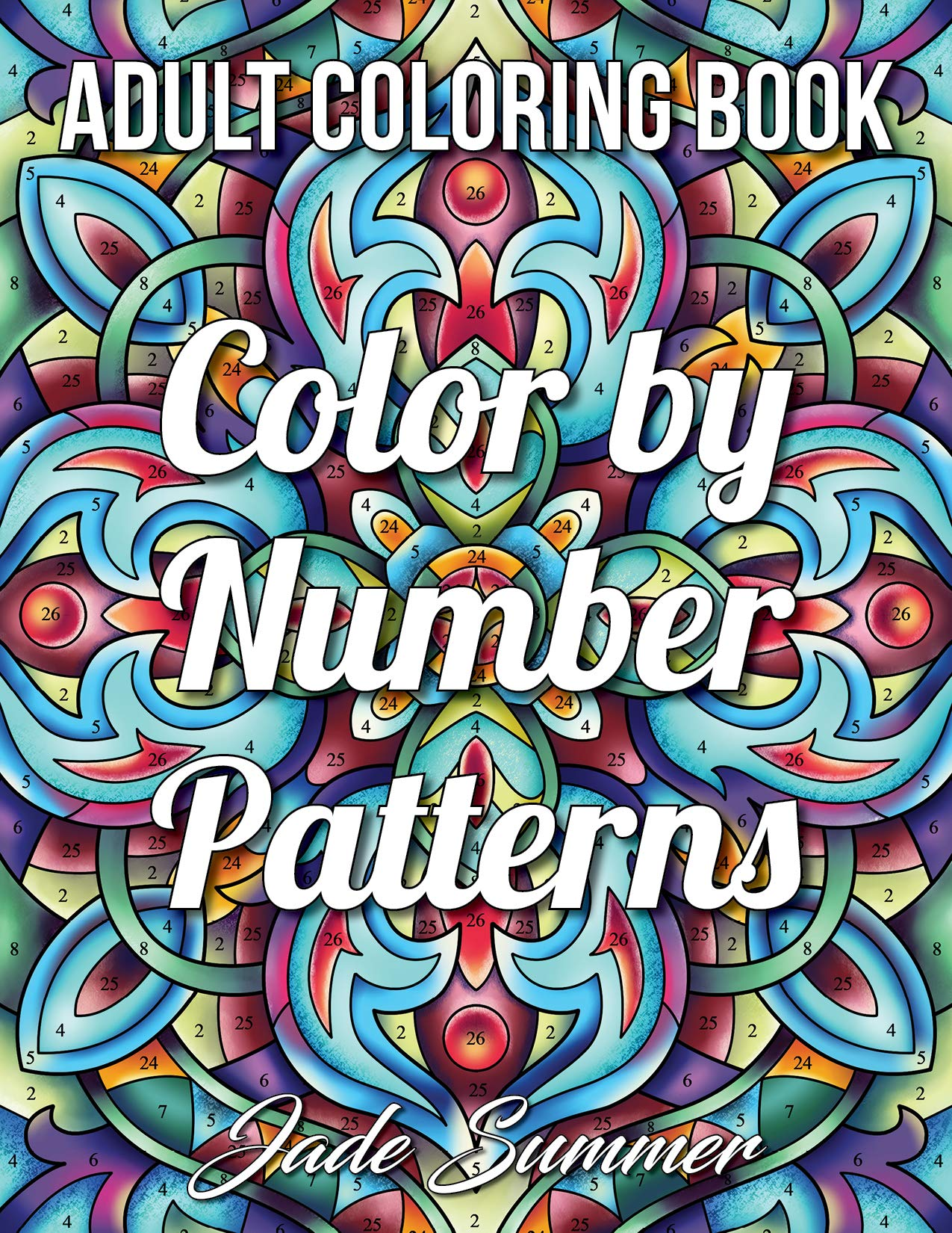 color by number coloring book